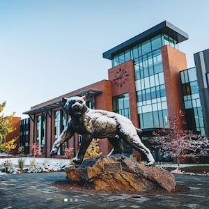 Northern Michigan University campus in Marquette, MI