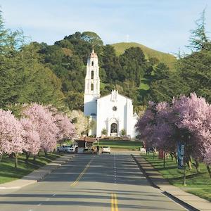 Saint Mary's College of California campus is Moraga, CA