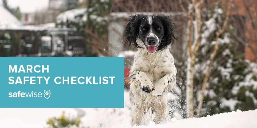 march safety checklist