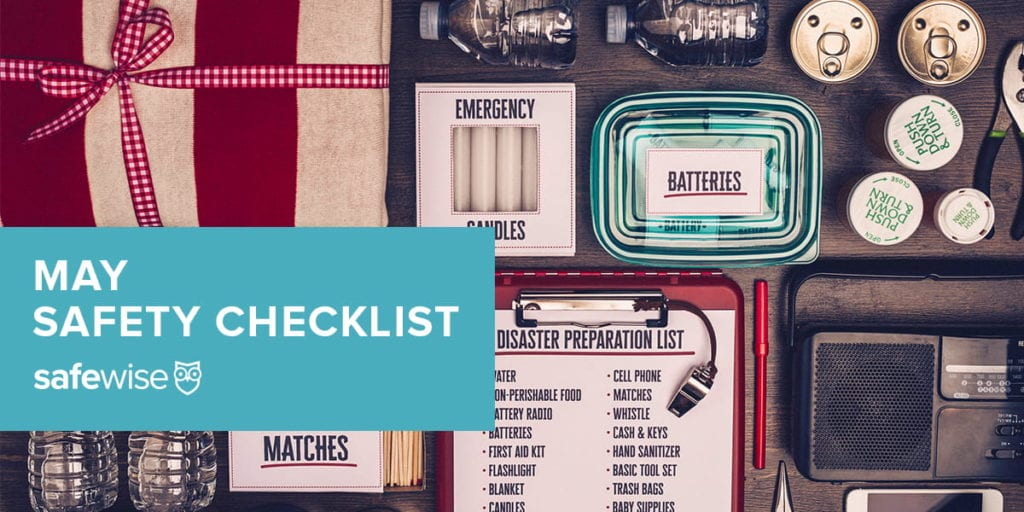 May Safety Checklist