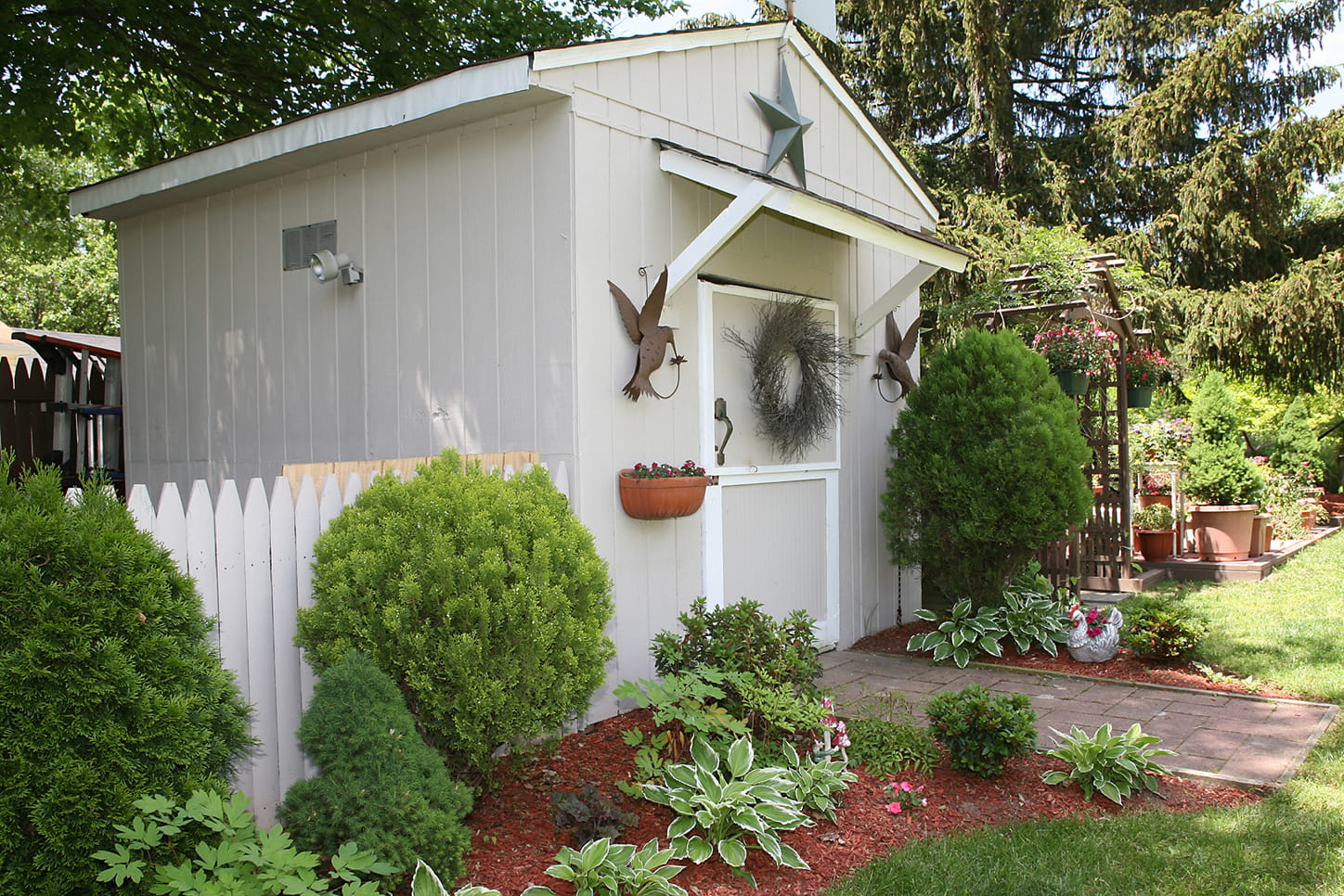 Cute shed