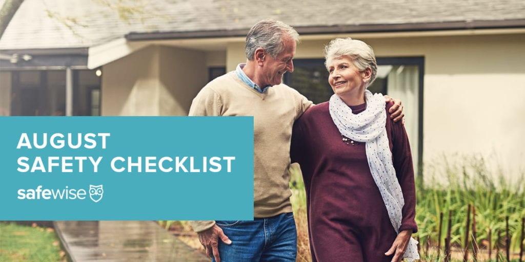 August Safety Checklist