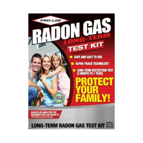 Pro-Lab Radon Detector Kit