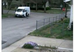 Runaway FedEx Van