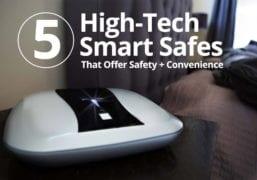 High Tech biometric safes