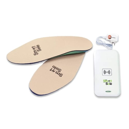 2 GPS Smart Soles and charger