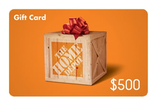 You can win a $500 gift card bby leaving a home security review at safewise.com