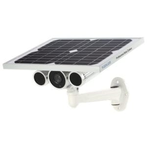 product image of a kkmoon outdoor solar camera