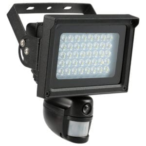 product image of kkmoon solar-powered security light and camera