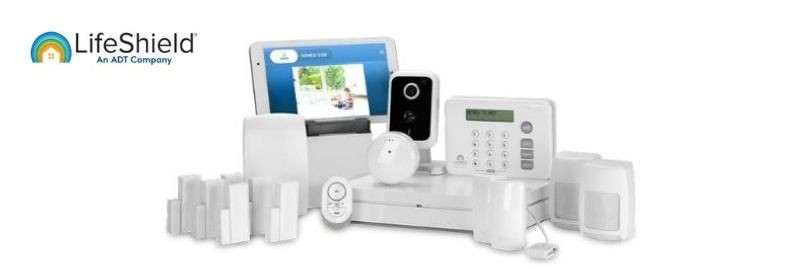 LifeShield home security equipment package