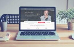 lifelock website on computer screen