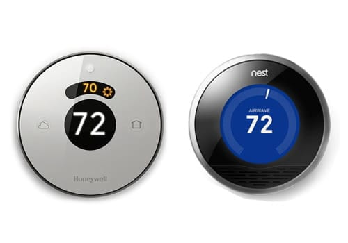 Honeywell Lyric versus Nest thermostat