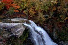 waterfall in Ohio