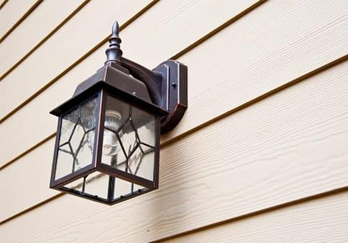 Use your porch light to deter burglars