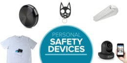 Personal safety devices for travel, at home, and more.