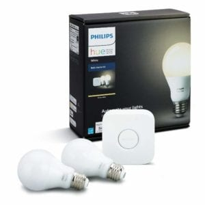 Philips Hue White LED Smart Bulb Starter Kit
