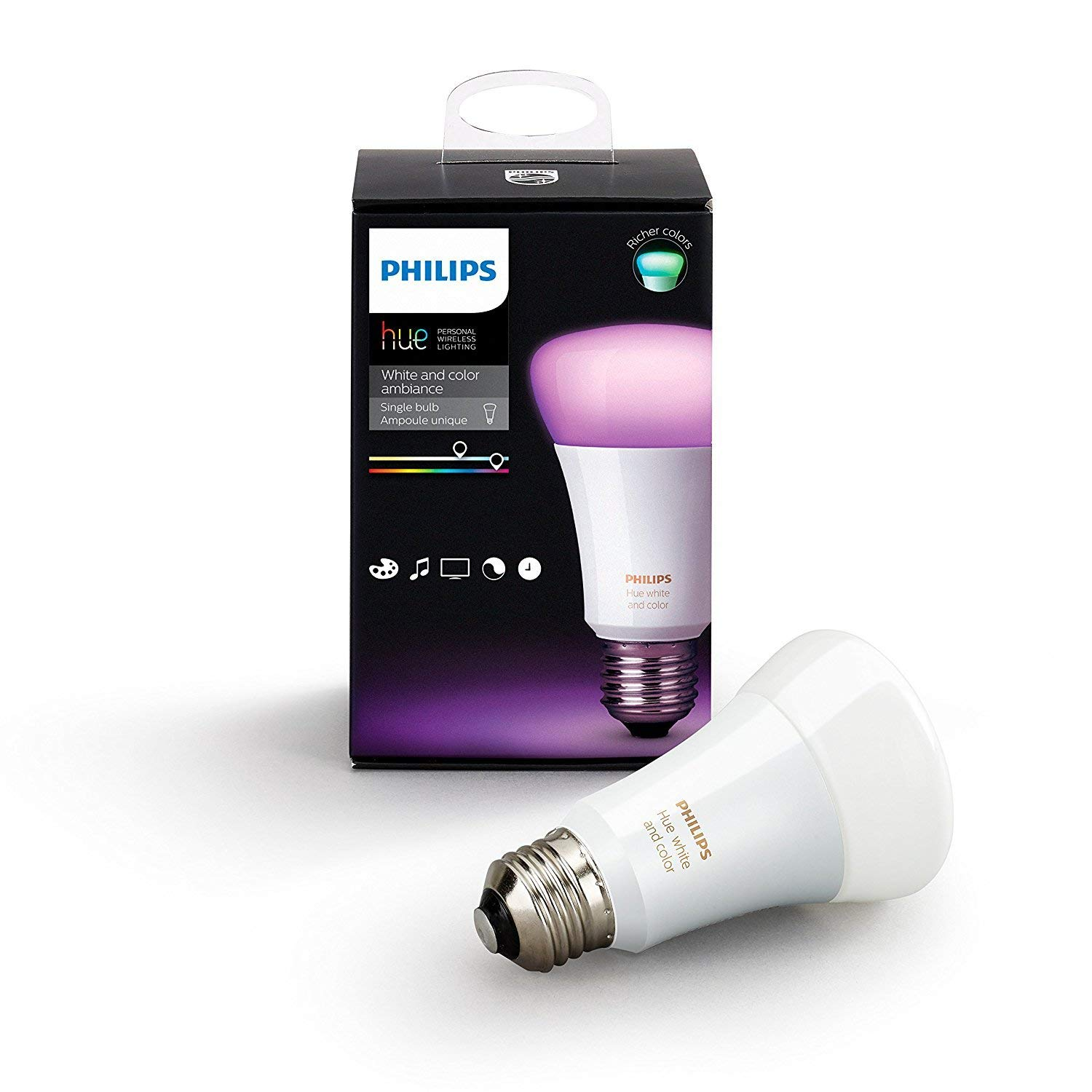 Philips Hue White and Color LED Smart Bulb