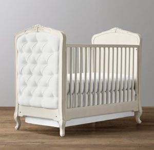 RH Tufted Crib
