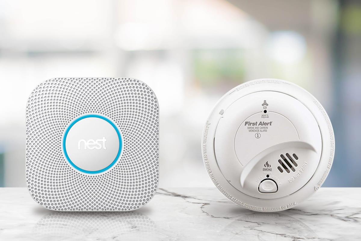 nest protect smoke alarm compared to first alert smoke alarm