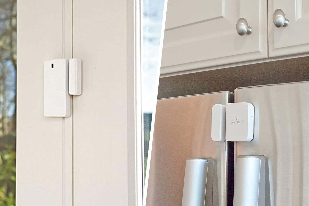 sabre vs. smartalarm door and window sensors