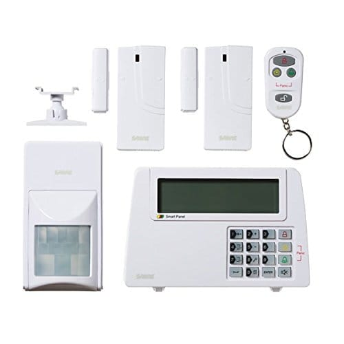 sabre security equipment and sensors for alarm system