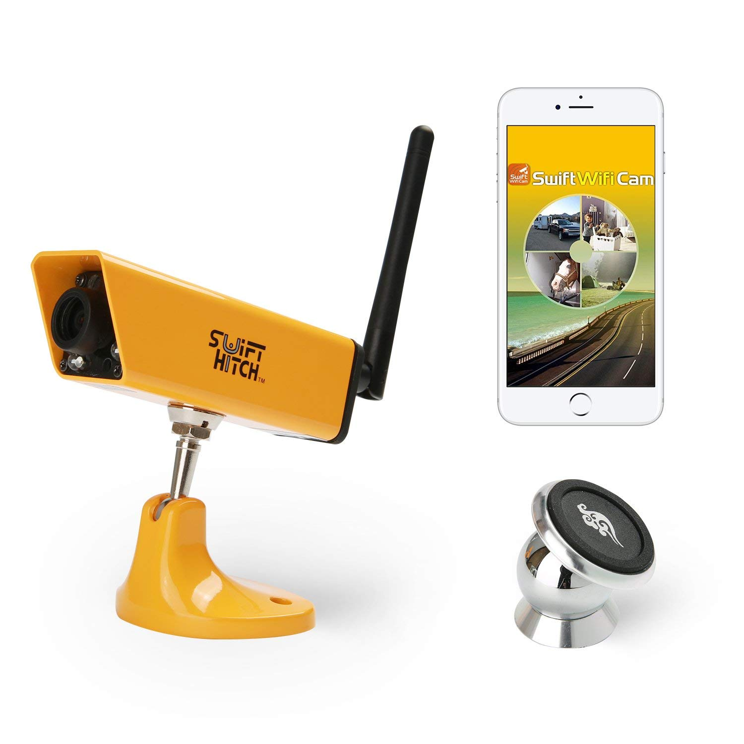 swift hitch wireless backup camera