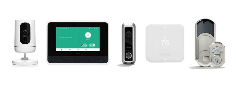 Selection of Vivint equipment
