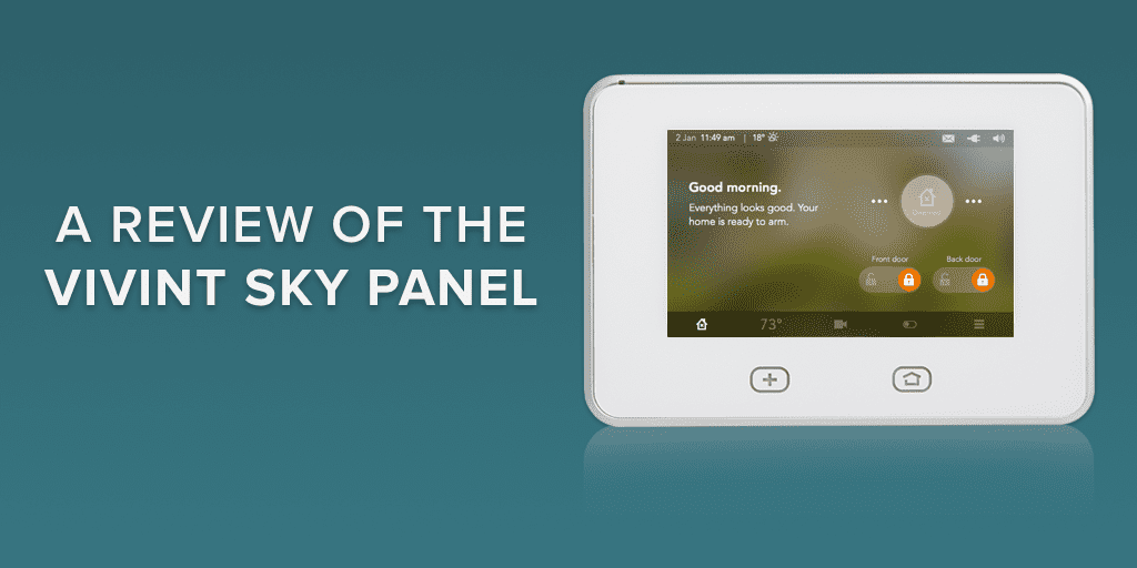A Review Of The Vivint Skycontrol Panel Safewise