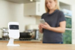 Use home security to make living alone safer