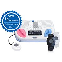 adt on the go medical alert equipment