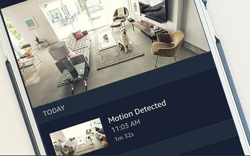 Amazon Cloud Cam App with Motion Detection
