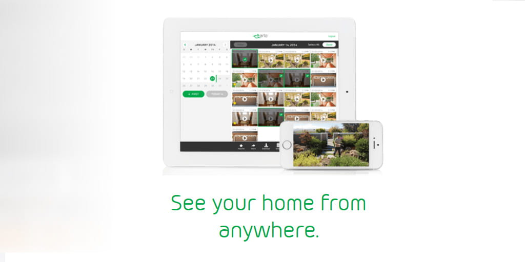 arlo helps you watch your home