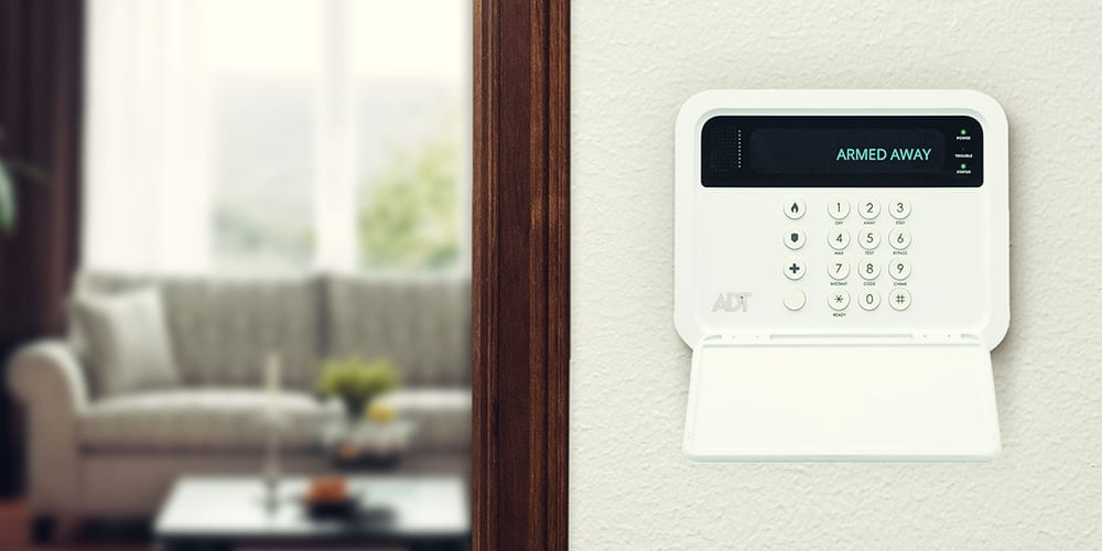 adt home security control panel