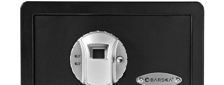 barsrka mini biometric safe