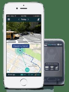 AngelSense Tracker Mobile device