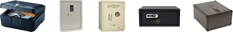 selection of top home safes