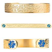 divoti filigree medical alert bracelet