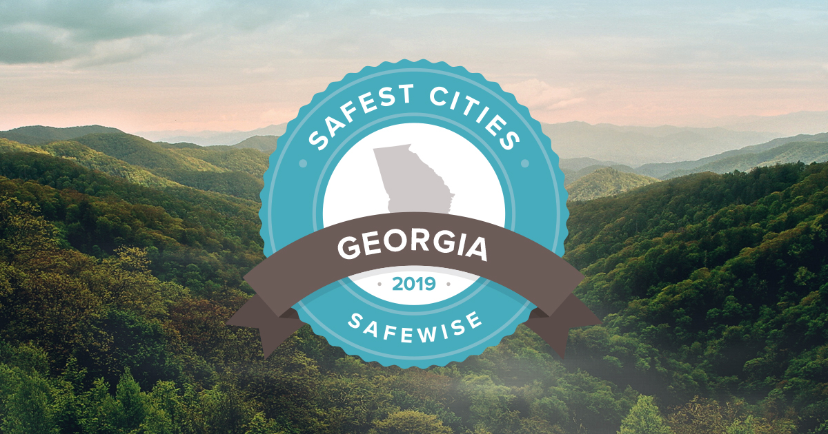 Georgia's 50 Safest Cities of 2019 | SafeWise