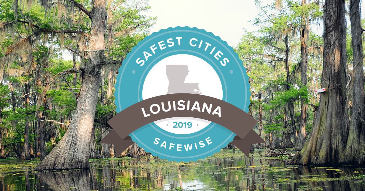 Louisiana's 10 Safest Cities