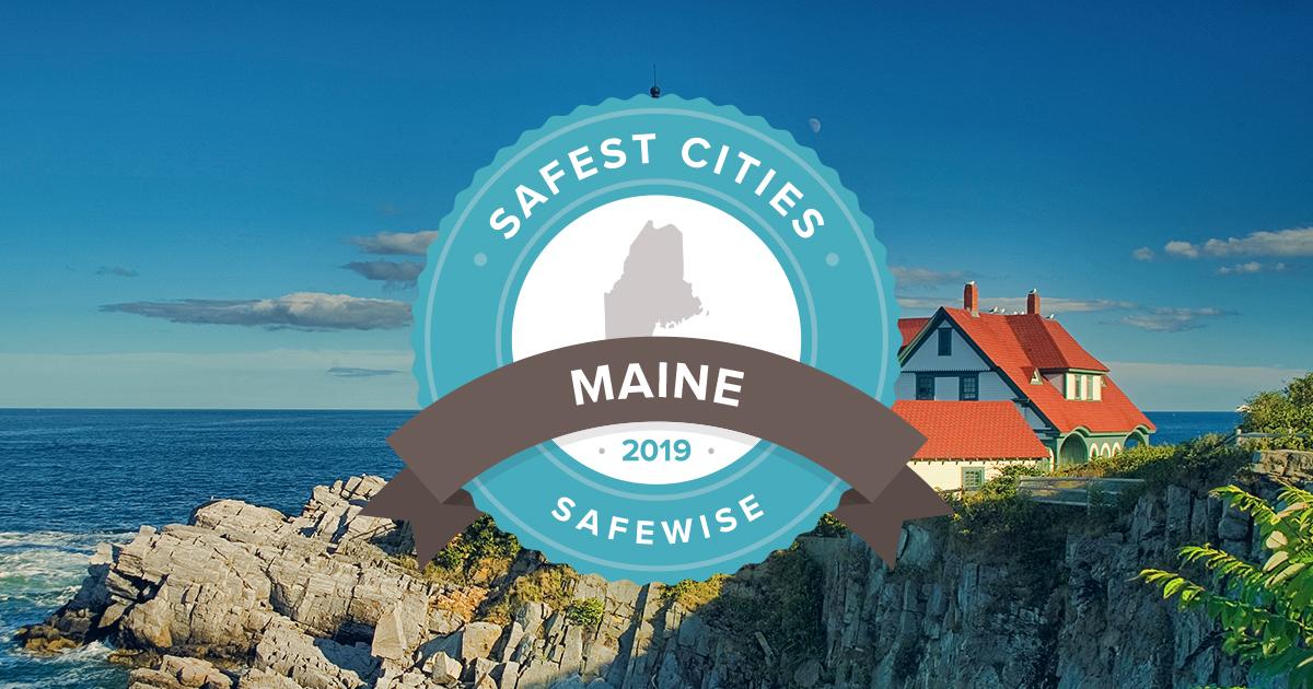 Maine's Safest Cities