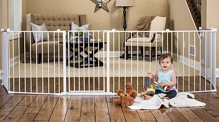 hardware mounted baby gates