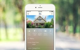 photo of Self Monitoring Home Security app on smartphone