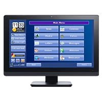 grandcare system displayed on computer monitor screen