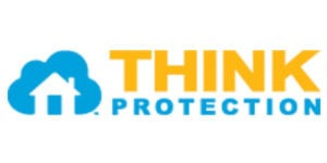 logo of think protection home security