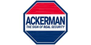 Ackerman home security logo
