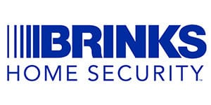 blue brinks home security logo