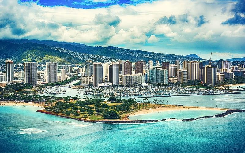 scenic photo of Honolulu Hawaii