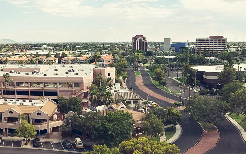 scenic photo of Mesa Arizona