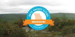 Safest Citis in Missouri 2015