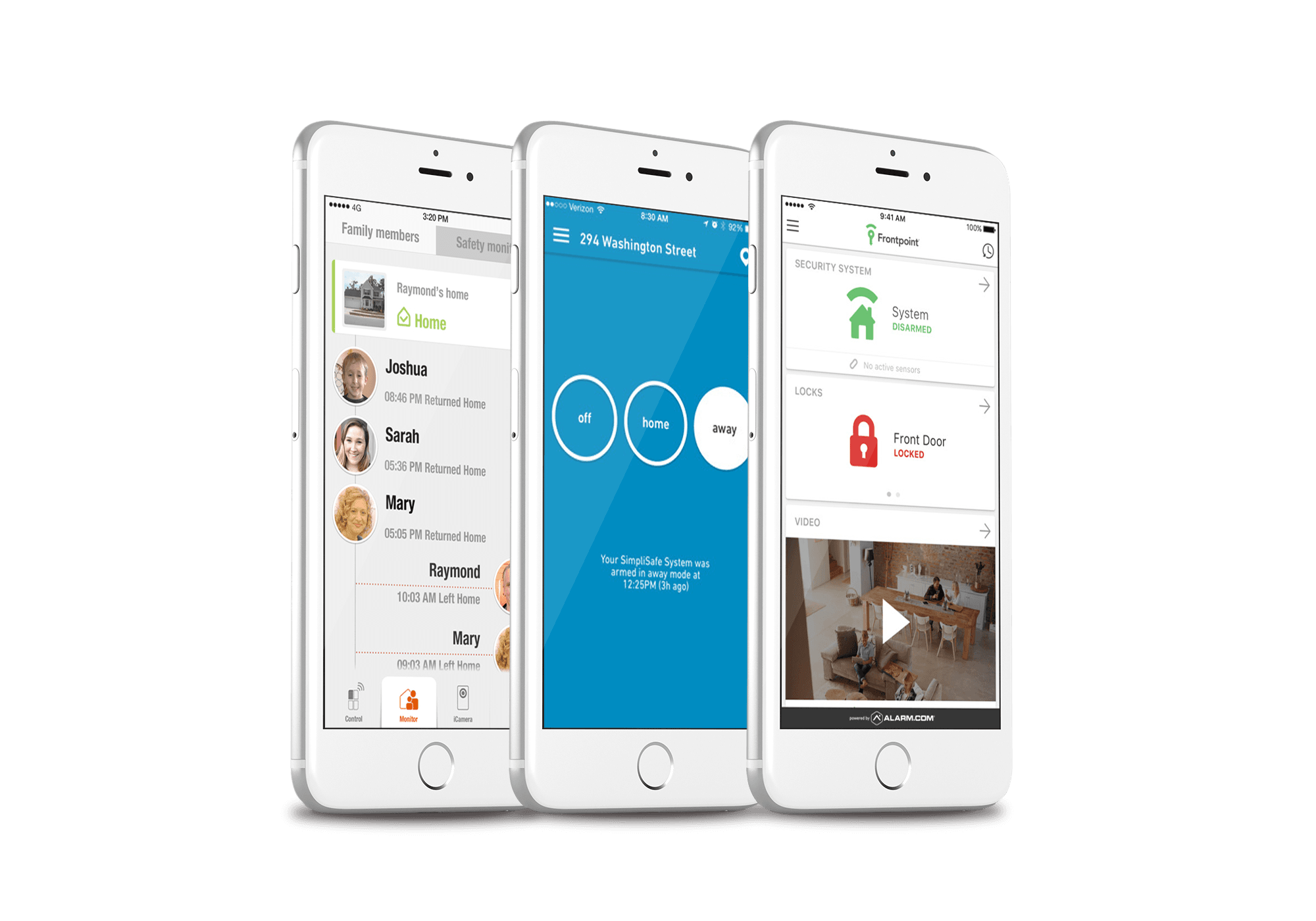 home security apps on smartphones